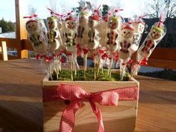 Marshmallows-Schneemänndli