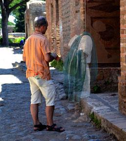 OmoGirando Ostia Antica: vita privata e vita pubblica