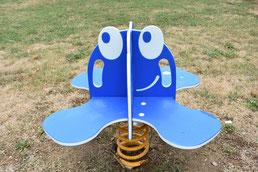 gioco a molla polpetta iochi per parco, giochi per parchi, attrezzature per parchi gioco, strutture ludiche Stileurbano Ciuffo Baobab certificati Norma EN1176 CATAS stileurbano oratorio FOM odielle abbiategrasso