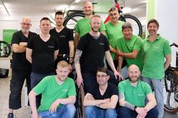 Experten in der e-motion e-Bike Welt in Berlin-Steglitz