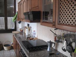 Moderne Küchenfront