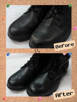 靴 磨き メンテナンス