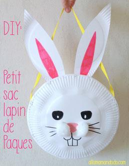Petit sac lapin de Pâques, Allo Maman Dodo