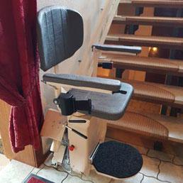 Zweirohr Treppenlift in Niedrsachsen  (Privat)