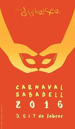Cartel del Carnaval de Sabadell 2016