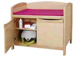 Meuble d'accueil 2 portes pour crèches et petite enfance. Meuble d'accueil 2 portes, mobilier pour petite enfance, assistantes maternelles, RAM à acheter pas cher.