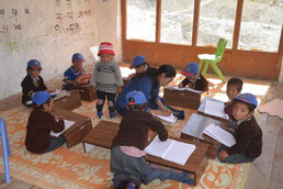 Ladakh Lingshed classe maternelle