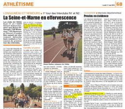 LA REP 11/05/2015 : Athlétisme