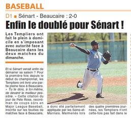LA REP 27/04/2015 : Baseball