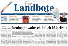 Landbote 28.07.12 Titelblatt