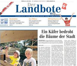 Landbote 20.07.12 Titelblatt