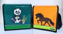 """Kindergartentasche Blache """"Panda mit Bambus"""""""