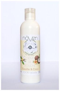 crème douche vanille coco france artisanal