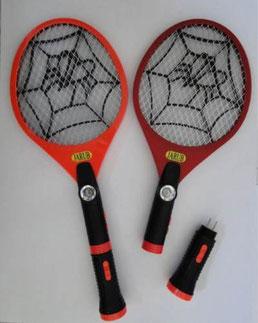 Raqueta mata moscas recargable y con lampara de mano $120.ºº