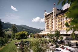 Gstaad Palace Hotel Aussenansicht