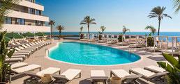 Me Ibiza Hotel Terasse