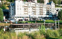 Hotel Seehof Davos bei Tag