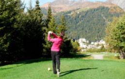 Golf in Davos