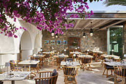 ikaros beach luxury resort & spa restaurant