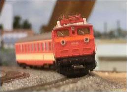 Abb. 80, Gleisüberhöhung, damit es die Passagiere bequem haben