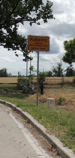 Ortseingang von Kabelitz