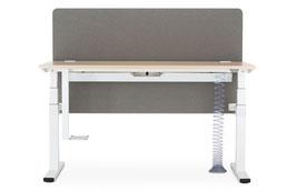 Nowystyl elektrisch verstellbarer Schreibtisch eModell 2.0 Komplettausstattung
