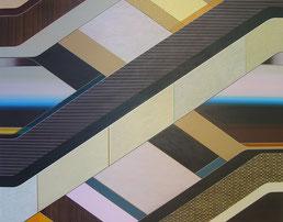 Aurelia Gratzer, SHAFT, ACRYL AUF MOLINO, 140 X 180 CM, 2010