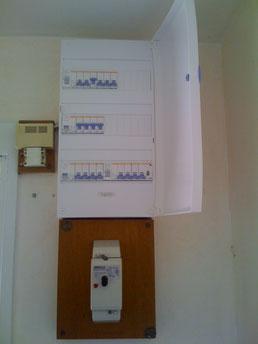 Mise aux normes tableau électrique maison bouc bel air