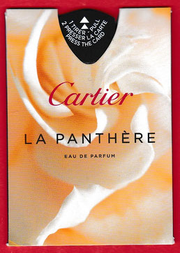 CARTIER - LA PANTHERE PUFFER : RECTO