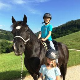 Ponyspaß bei Ponykerstin