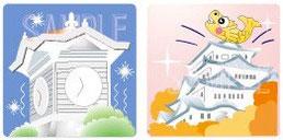 札幌時計台•名古屋城