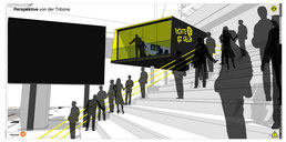 TV-Studio | Signal Iduna Park | Dortmund drahtler architekten dortmund planungsgruppe