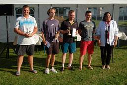 Sieger der 2. Ebsdorfergrund Tennis Open 2017