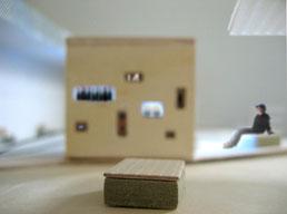 Kiosk: Visualisierung mit Model 1:100