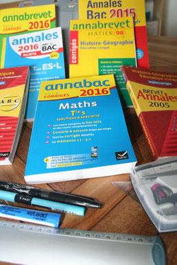 Toutes les anales pour réussir les examens.