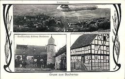 Ausschnitt aus einer alten Postkarte - Foto: Sammlung Peter Schaaf, Buchenau