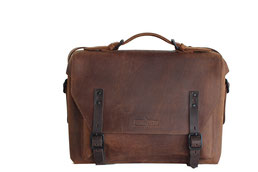 Margelisch ecoleather, laptopmessenger Leder