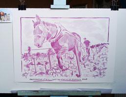 Peinture-au-vin-rouge