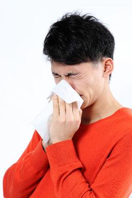 花粉症ではなく、自律神経からくる寒暖差アレルギーでは?