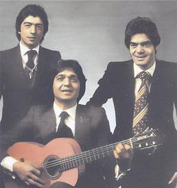 Los Chichos portada original Bailarás con alegría (1981) del mismo cliché
