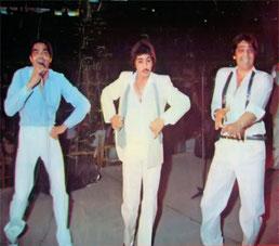 Actuación en Málaga (Los Chichos 1983)