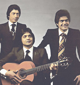Los Chichos portada original Bailarás con alegría (1981) misma tirada