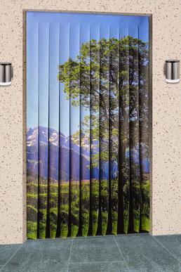 Insektenschutz Vorhang mit Foto