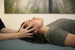 Cranio Sacral Balancing für Erwachsen © Claudia Stift Praxis für innere Balance