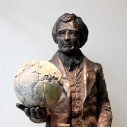 Sculpture-buste-statue-bronze-sulpteur-Langloys-Arago