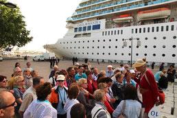 Landausflüge shore excursions cruise services