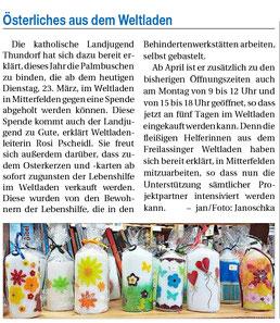 Quelle: Freilassinger Anzeiger, 23.03.2021