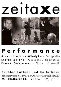 ZEITAXE / Kunstverein PUMPWERK - Siegburg und Kurfürstliches Gärtnerhaus Bonn, 2014