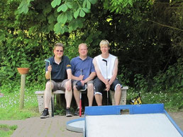 Von links: Christian Somnitz, Andreas Seyen, Björn Müller
