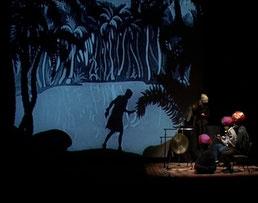 l'unique long-metrage en silhouettes d'ombre en ciné-concert